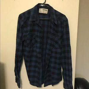 Brandy Melville Vintage Blue Flannel